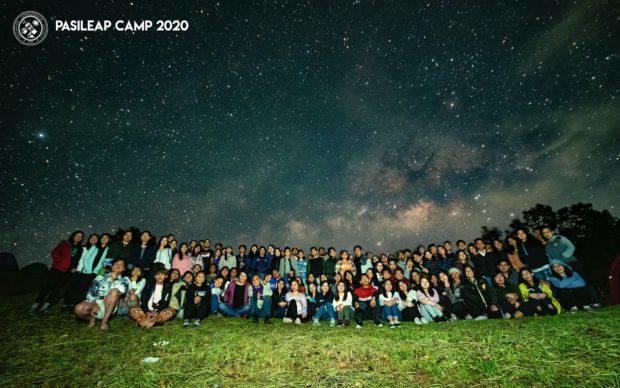 L'un des camps d'astronomie avant la pandémie.  Page Facebook de la Philippine Astronomical Society