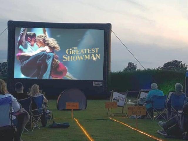 Deux événements de cinéma en plein air sont prévus en juillet à l'abbaye de Delapre.