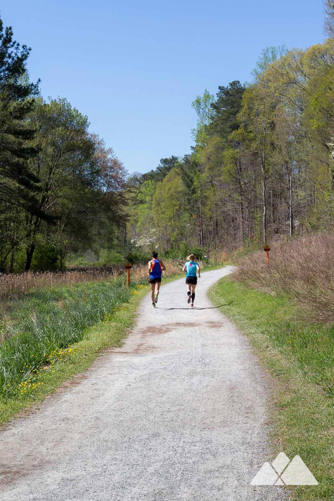 Cochran Shoals Trail: meilleurs spots de course sur la rivière Chattahoochee à Atlanta