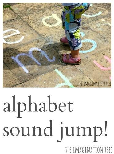 Jeu de phonétique de saut de lettre bruyant (photo de l'arbre de l'imagination)
