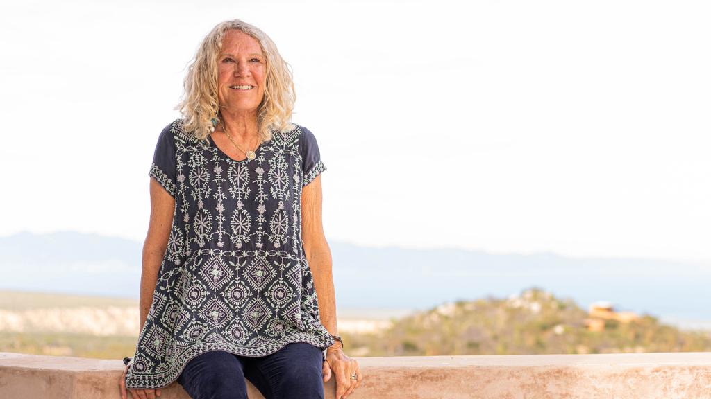 La fondatrice Christy Walton chez elle avec vue sur la mer de Cortez
