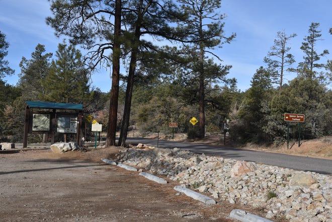 Le point de départ du sentier Spence Springs à Prescott, en Arizona, a ouvert ses portes en 2019.