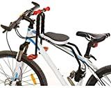 Siège de vélo pour enfants YSONG, porte-bébé / chaise de bébé à déplacement rapide, siège de sécurité pour enfant réglable pour enfants de 2,5 à 6 ans (jusqu'à 110 livres)
