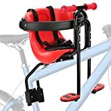 FORTOP Bicycle Baby Kids Siège à montage avant pour enfant USA en toute sécurité avec main courante