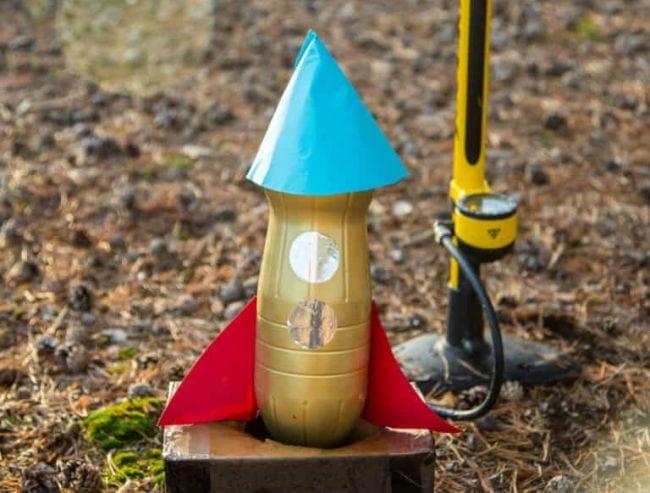 En dehors de la bouteille scientifique Rocket Science Sparks