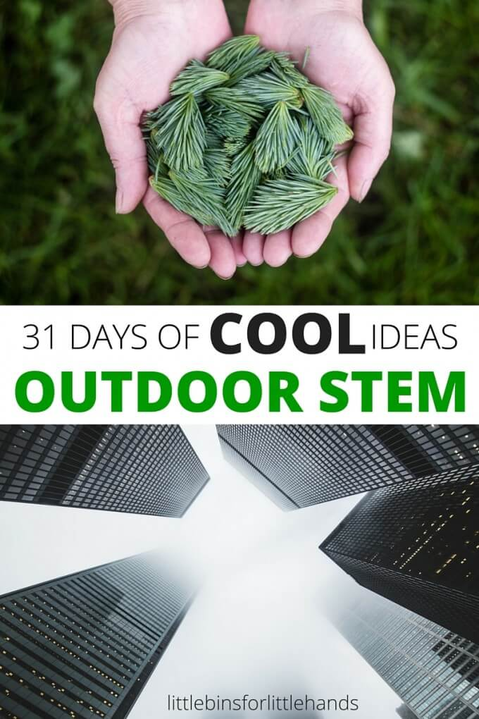 Activités STEM en plein air pour les enfants 31 jours Idées mathématiques de l'ingénierie scientifique et technologique-2