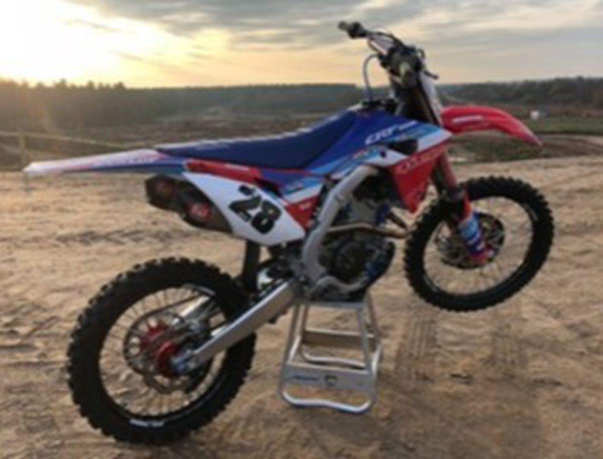 Vélo de motocross Honda CRF 250