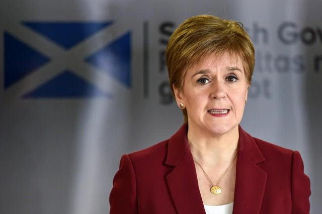 Le premier ministre a dévoilé en février comment les restrictions en Écosse seront progressivement assouplies (Getty Images)