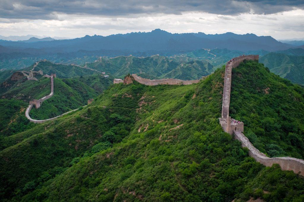 Section Jinshanling de la Grande Muraille de Chine