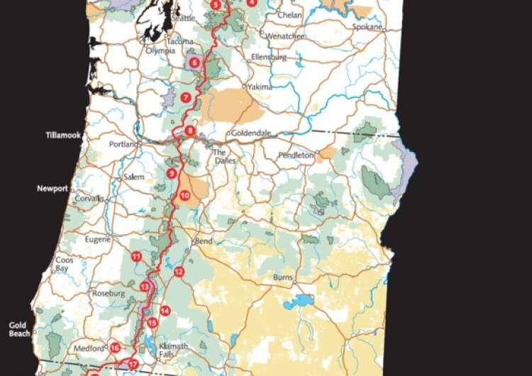 Une étude suggère que la randonnée, comme sur le Pacific Crest Trail, pourrait diminuer la santé vasculaire