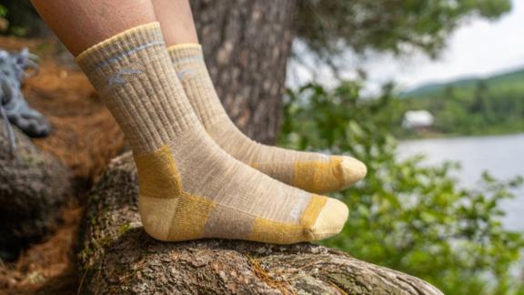Chaussettes mi-mollet Darn Tough Hiker pour femmes