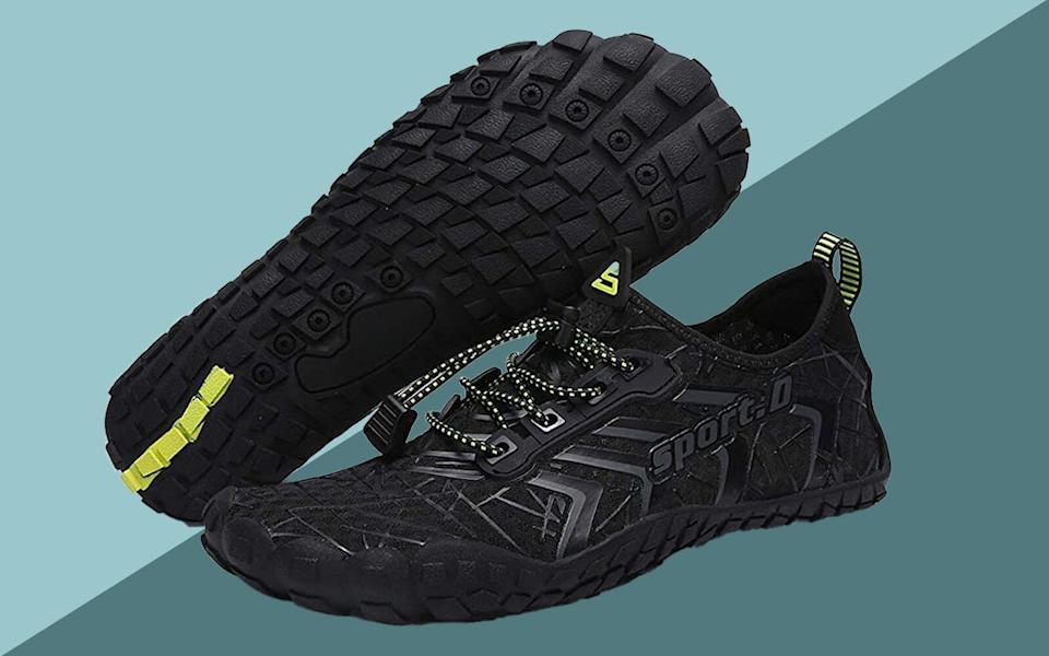 UBFEN Chaussures d'eau pour hommes et femmes Aqua Shoes Swim